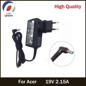 Image 1 - Ue US royaume uni AU 19V 2.15A 5.5*1.7mm adaptateur pour ordinateur portable ca pour Acer Aspire D255 533 D257 D260 W500P W501 W501P E15 chargeur dalimentation