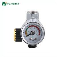 FUJIWARA Вакуумный Манометр 0-10 бар/0-12 бар Мини циферблат воздушный вакуумный манометр метр Стабильная производительность манометр