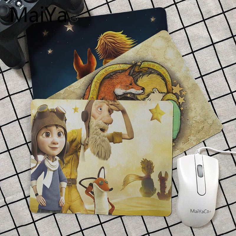 Maiya  The Little Prince And The Fox Gamer Play Mats Mousepad Rubber PC Computer Gaming Mouse Pad
