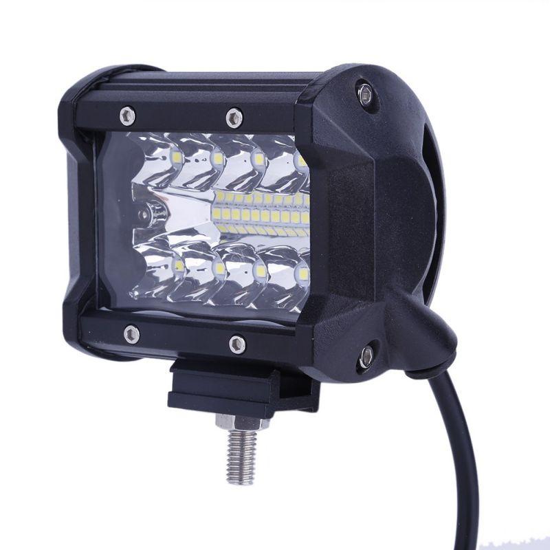 2 шт. 4 светодиодный свет работы Off Road вождения местная Наводнение Противотуманные фары Водонепроницаемый светодиодный кубики для грузовик...