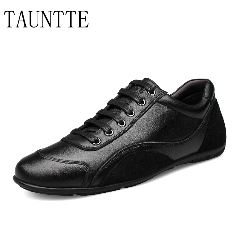 Hommes chaussures en cuir véritable baskets été haute qualité chaussures décontractées