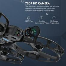 Fold-able Selfie Drone Quad-copter with HD Camera WiFi APP Control FPV RC Helicopters Toys