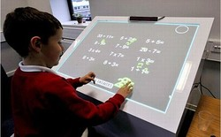 Auto-calibration Multi Touch IR Interactive Electronic White board, finger touch portable interactive whiteboard