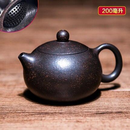 Yixing Teapot Master Pure Handmade tea pot Purple Clay Teapot Oolong Tea Puer tea Chinese Kung Fu Zisha Tea Kettle