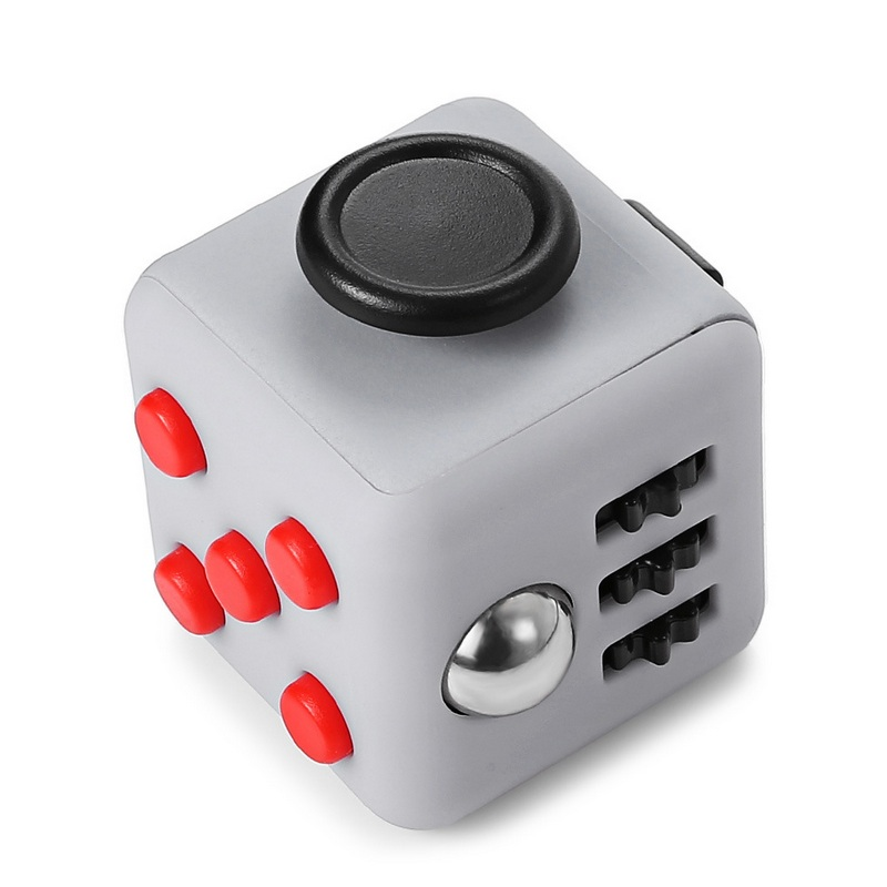 Magic Fidget Cube Toys Dice Funny Stress Antistress Squezze EDC Irritabilit Reliever Desk Hand Plam Children Adult Breathe Roll