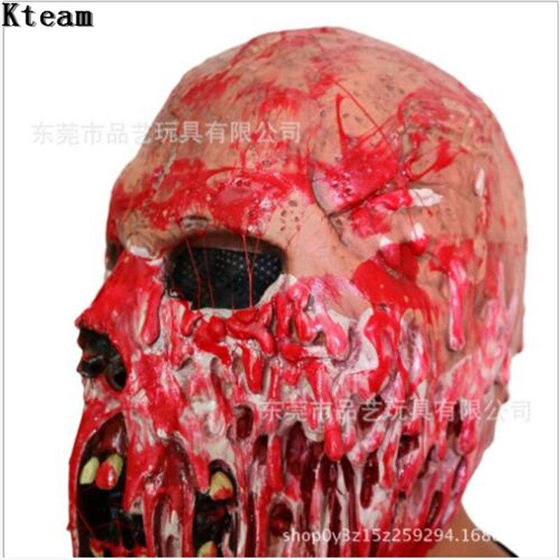 Nueva Halloween bioquímica diablo máscara terrible partido Cosplay ...