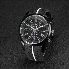 Marca de lujo de Regalo Super Speed V6 hombres de Cuarzo de Silicona reloj de pulsera de Reloj Relojes Deportivos Relogio reloj Montre Reojes horas 00