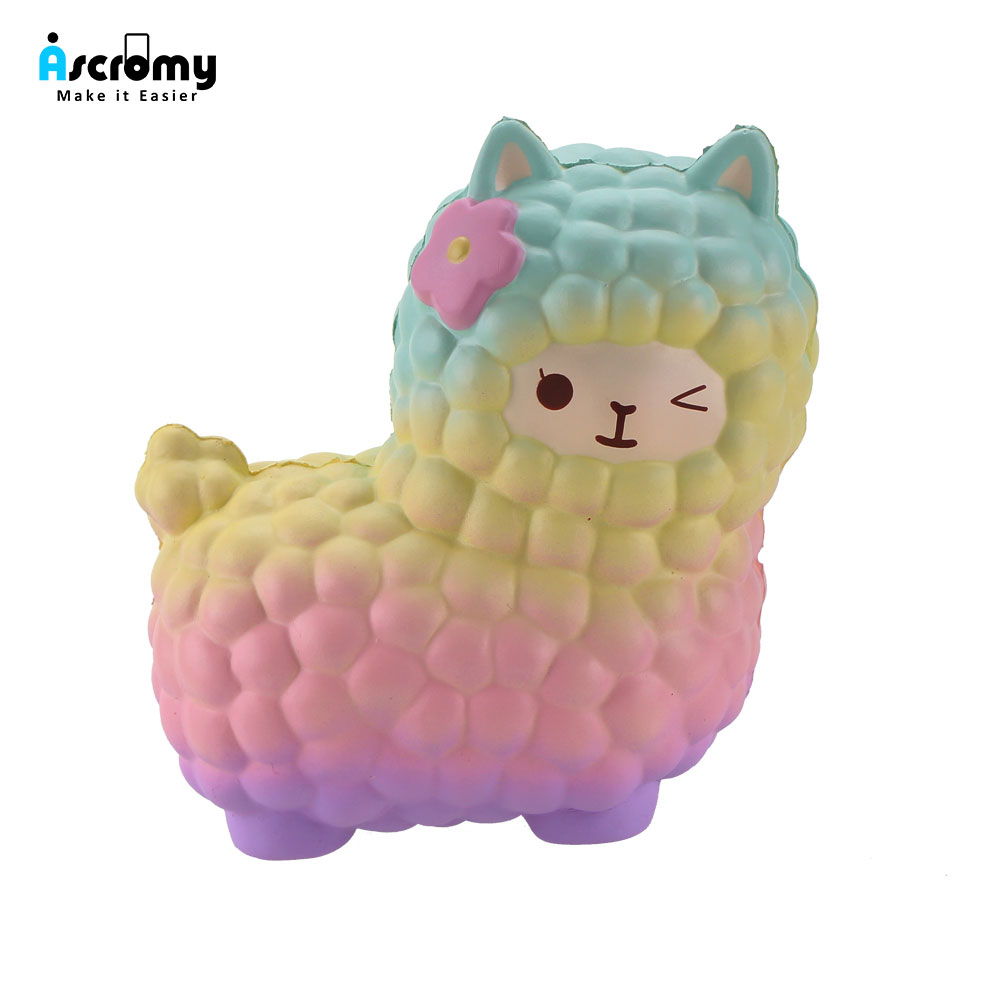 Squsihies-Stress-Toys-Squishy-Slow-Rising-Stress-Toys-Alpaca-7
