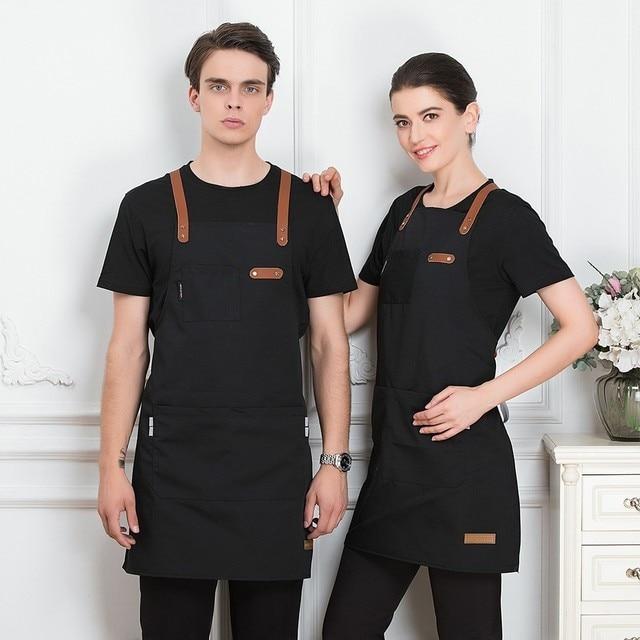Unisex Fashion Short Apron  3