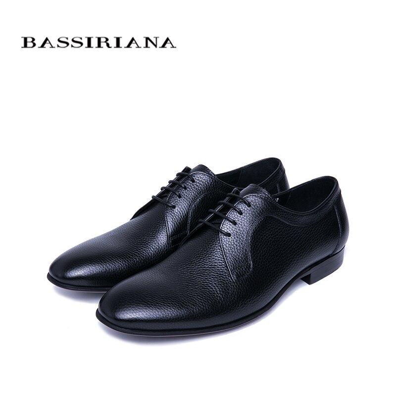 Модная брендовая мужская обувь; Мужская обувь из натуральной кожи; повседневная мужская обувь; роскошные классические деловые классически... - 4