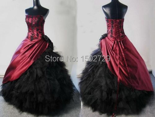 Compare Prices on Plus Size Gothic Wedding Gowns- Online Shopping ...