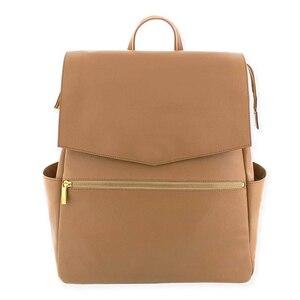 Image 5 - Сумка для детских подгузников из искусственной кожи, рюкзак большой емкости, рюкзак для подгузников, дорожная сумка для мам, сумка для детских колясок