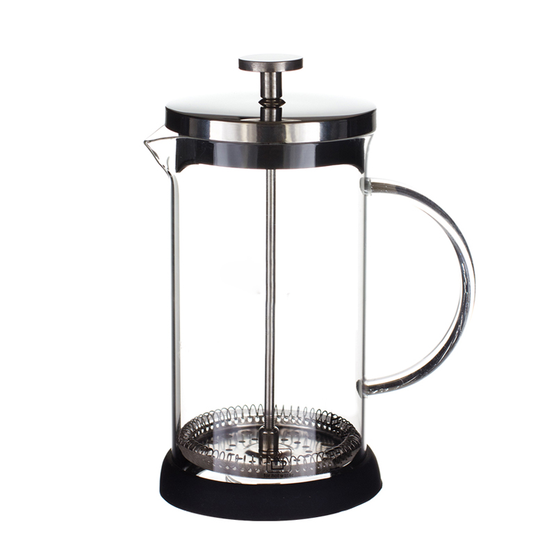 Stainless Steel + Borosilicate French Presses Coffee Pot, Coffee Maker, Tea Pot 1000mL Coffee Maker Coffee Plunger