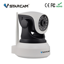 2017 Vstarcam C7824WIP   home wifi IP surveillance Camera CCTV wireless  support 64G TF card P/T HD Camera free Shipping