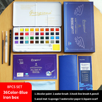 36color blue box