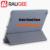 Mais novo 100% original oficial de grãos pu & pc anti-knock case capa flip inteligente para 7.9 polegada xiaomi mi pad 2 tablet