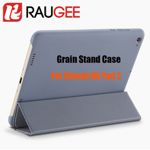 Newest 100% Original Official Grain PU&PC Anti-knock Smart Flip Cover Case For 7.9 Inch Xiaomi Mi Pad 2 Tablet