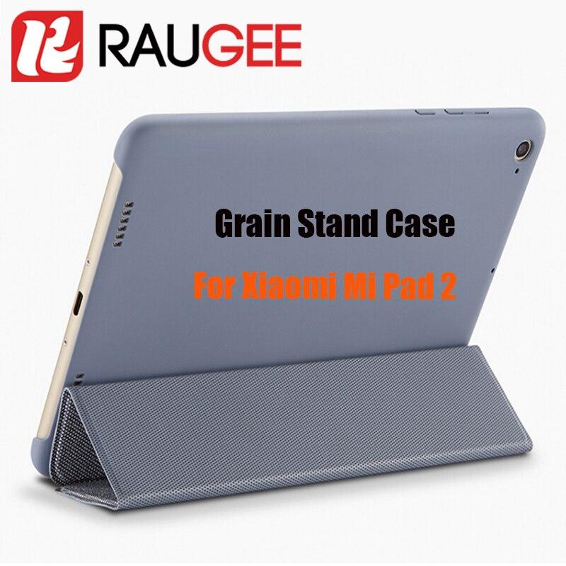 imágenes para Original Oficial de Grano de la PU y PC antidetonantes Flip Funda Elegante Para 7.9 Pulgadas Xiaomi mi Pad 2 3 de la Tableta