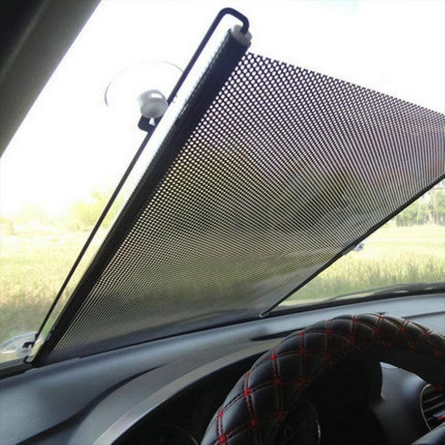 Auto Retractable Car Curtain Side Window Car Sun Shade