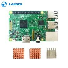 Sale original raspberry pi 3 model b / raspberry pi / raspberry / pi3 b / pi 3 / pi 3b with wifi & bluetooth CPU Aluminum Heat Sink