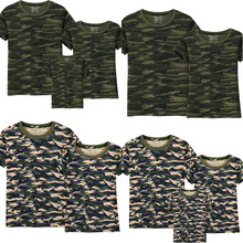 All Family Camouflage Pattern T-Shirts