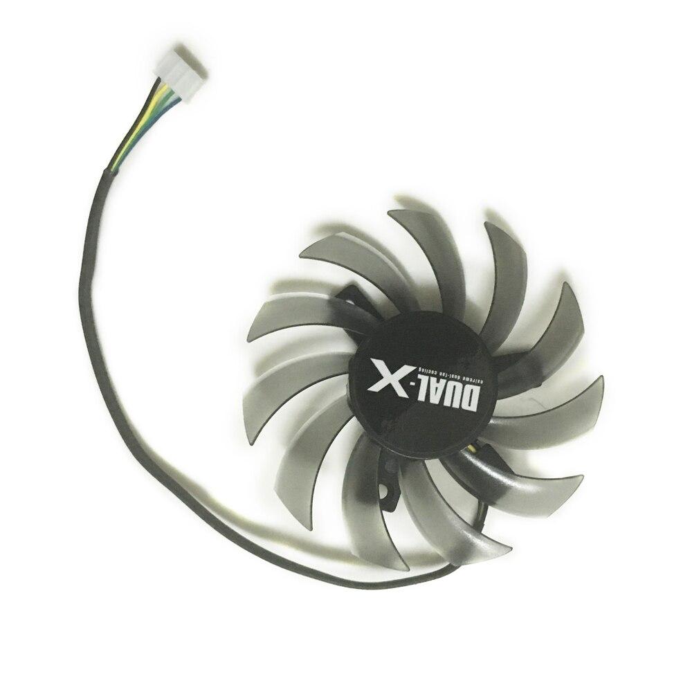 75 MM FD7010H12S DC 12 V 0.35A Sans Cadre Ventilateur De La Carte VGA Pour ASUS Saphir HD6930 HD7850 Carte GPU de refroidissement