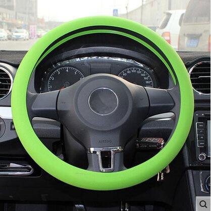 Goedhartig Auto-styling Siliconen Stuurwiel Huid Cover Chevrolet Volt Epica Malibu Camaro Kobalt Orlando Spark In Pain