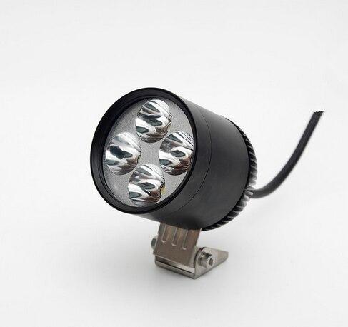 ФОТО 4*U2 Cree led chip 30W 3000lumens waterproof motorcycle led light Motorcycle Headlight Motorbike spotlight 3000LM Motos