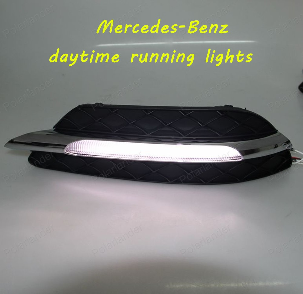 Yeats Led Daytime Running Lights Drl Led Front Bumper Fog: Aliexpress.com : Buy DRL High Light Auto Front Bumper Led