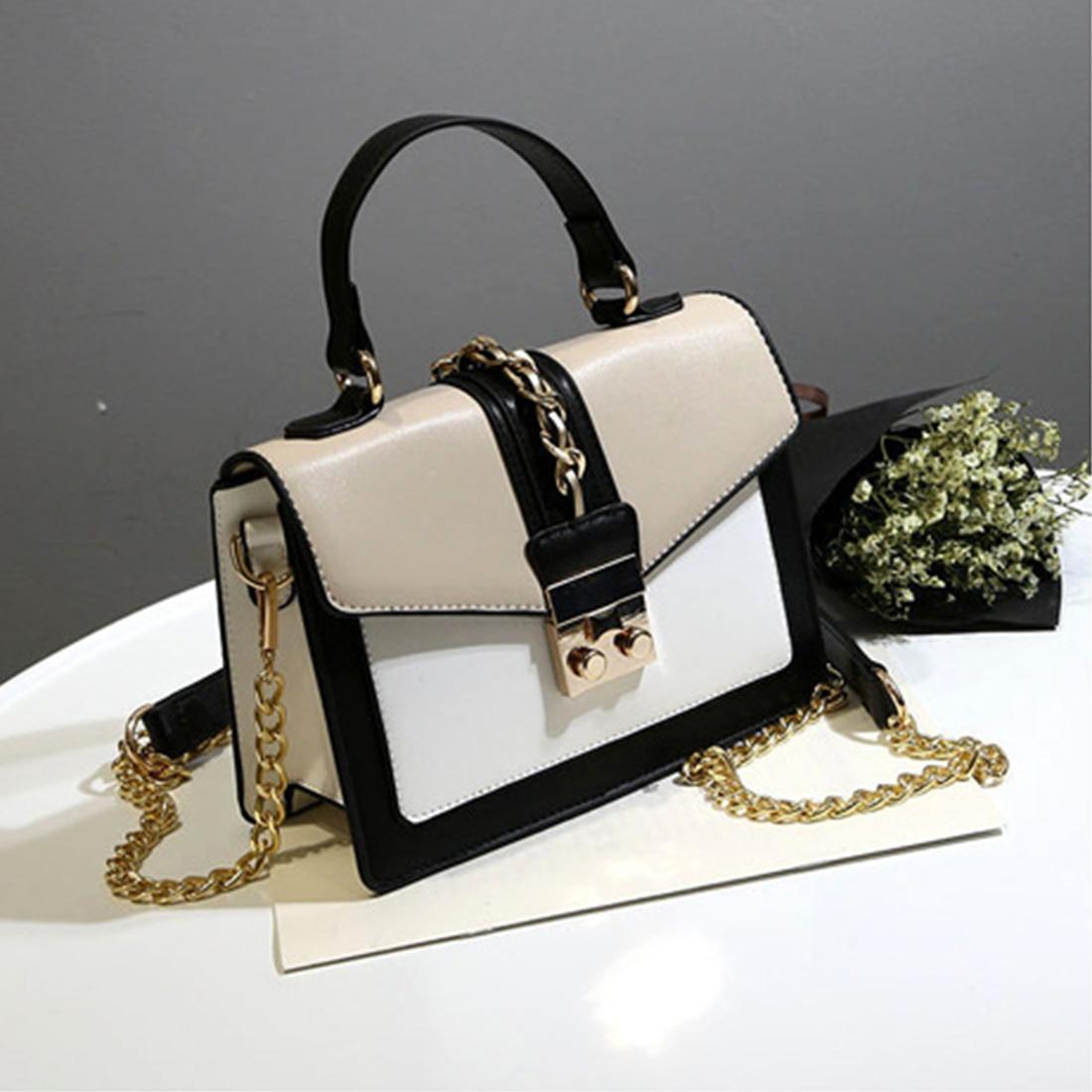 SFG FASHION Flap Women Messenger Bag Chain Strap Lady Work Shoulder Bags Luxury Handbag Women Bags Street Cross Body Bags