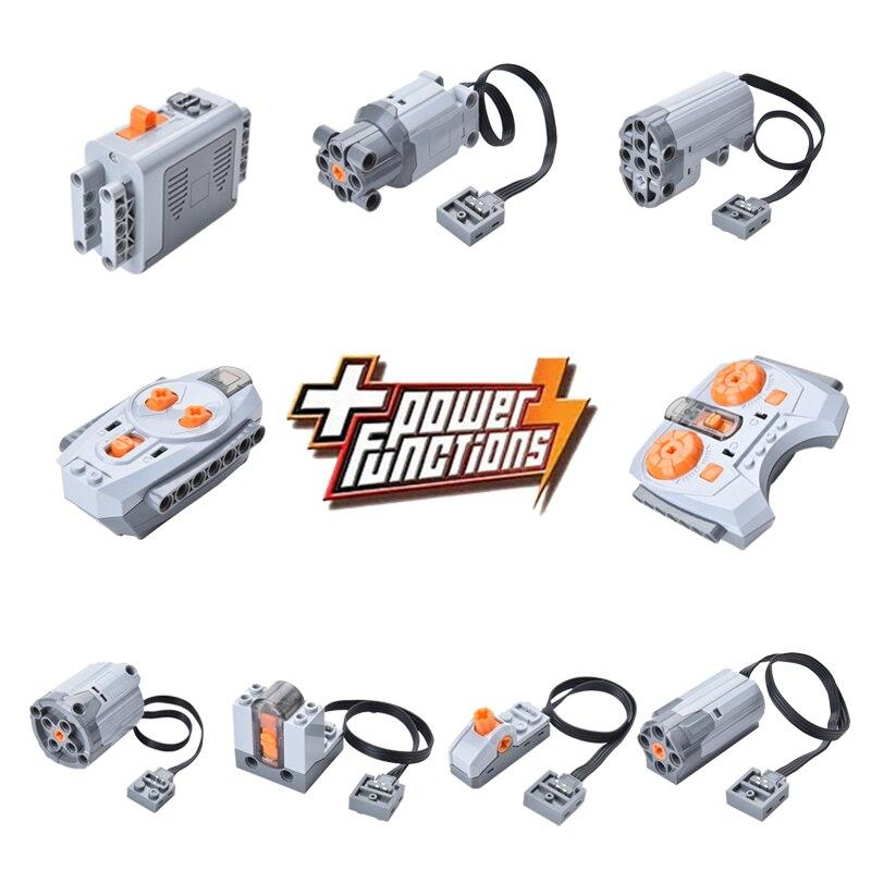 Motor technic train Remote Receiver LED Light Battery Box Power Functions 20001 3368 Technic 20053 20006 20013 20021 20076 20004 цена