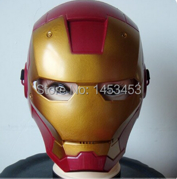 The Avengers 2: Age of Ultron IRON MAN Face Mask Toy Halloween Costume cosplay mask accessories