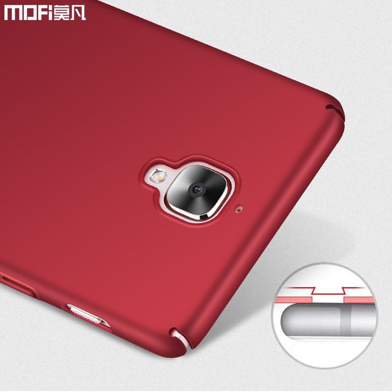 oneplus 3 Case oneplus 3 3T Case Cover cover mofi ultra բարակ - Բջջային հեռախոսի պարագաներ և պահեստամասեր - Լուսանկար 3