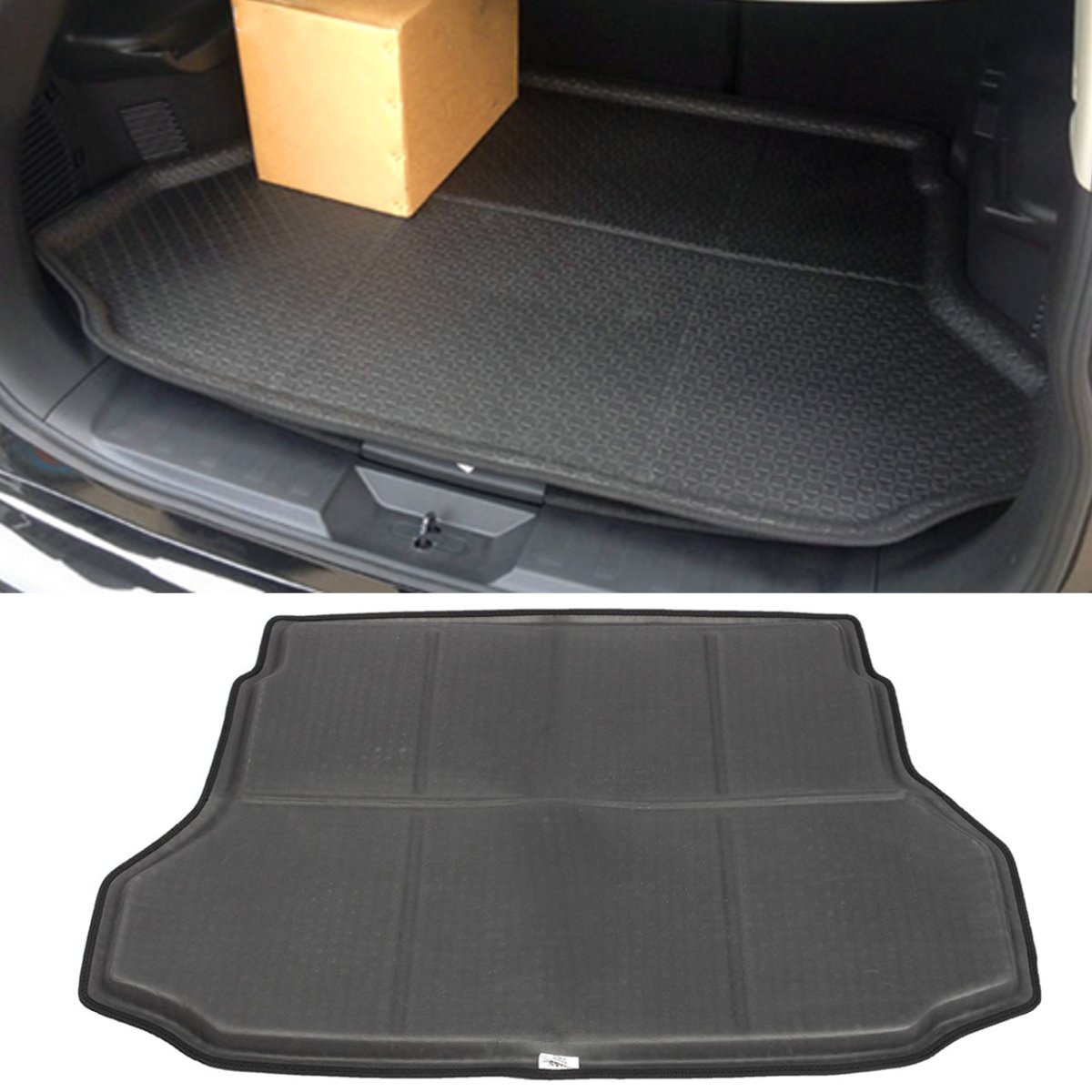 Rubber floor mats nissan rogue - 1x Rear Trunk Car Cargo Mat Floor Protector For Nissan 2014 2015 2016 Rogue 130cmx90cm