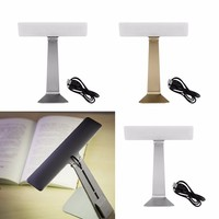 1PC 3 Modes Luminaria LED Ultra Thin Desk Lamp LED Smart Touch Folding Eye Protection Night