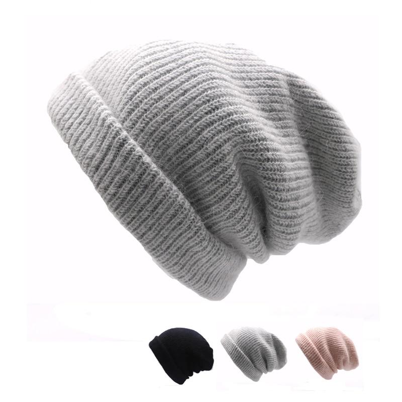2pcs Unisex Hat Winter Hat for Men Women   Skullies     Beanies   Women Men Cashmere Cotton Elasticity Warm Knit   Beanies   Hat Casual Cap
