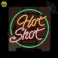 Neon Signs for Hot Shot Handcrafted Neon Bulbs sign Glass Tube Decorate Restaurant Store Wall neon light maker dropshipping