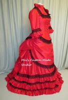 Victorian Bustle Wedding Ball Gown Women's Dress