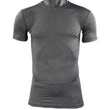 Mannen Compressie Base Layer Tee Shirts Atletische Tops Sport Collection(China)