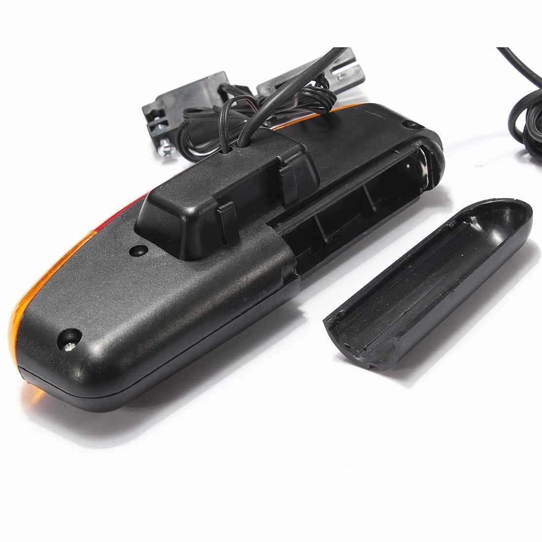 Survêtement 3 en 1 vtt vélo clignotant frein lumière LED 7 LED 8 airs klaxon électrique vélo lampe 3 modèles de lumière cyclisme lumières