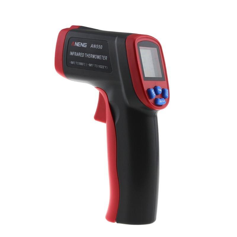AN550 Sans contact Infrarouge Thermomètre Numérique LCD Affichage Thermomètre pour La Maison Industrielle Température Test
