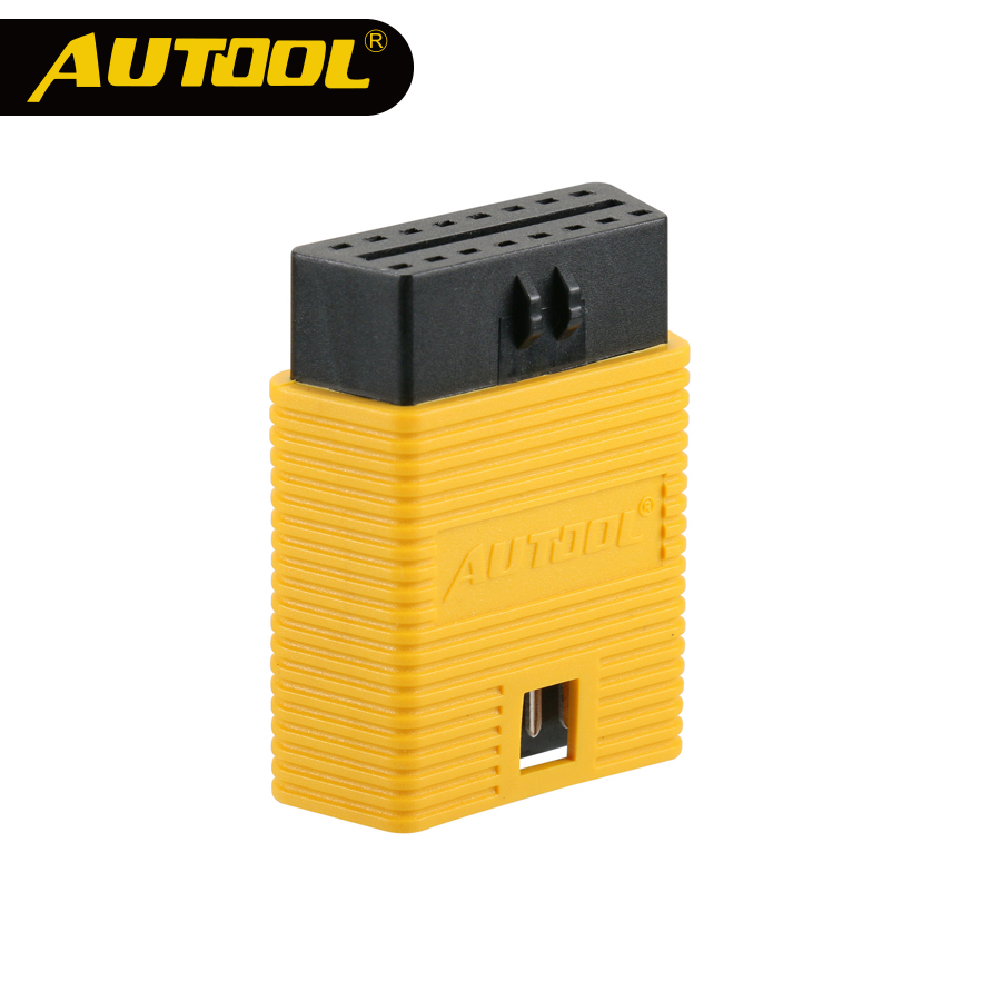 AUTOOL Car <font><b>OBD2</b></font> Connector Extension <font><b>Adapter</b></font> Auto OBD 2 Extend OBD 16Pin Connect Parts For Univeral OBDII ELM327 Scanner Adapt image
