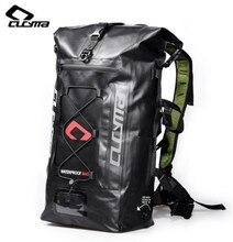 CUCYMA Full Waterproof Hiking Backpack Tail Saddle Bags Motorcycle Rear Package Helmet Bag Hang Motorbike