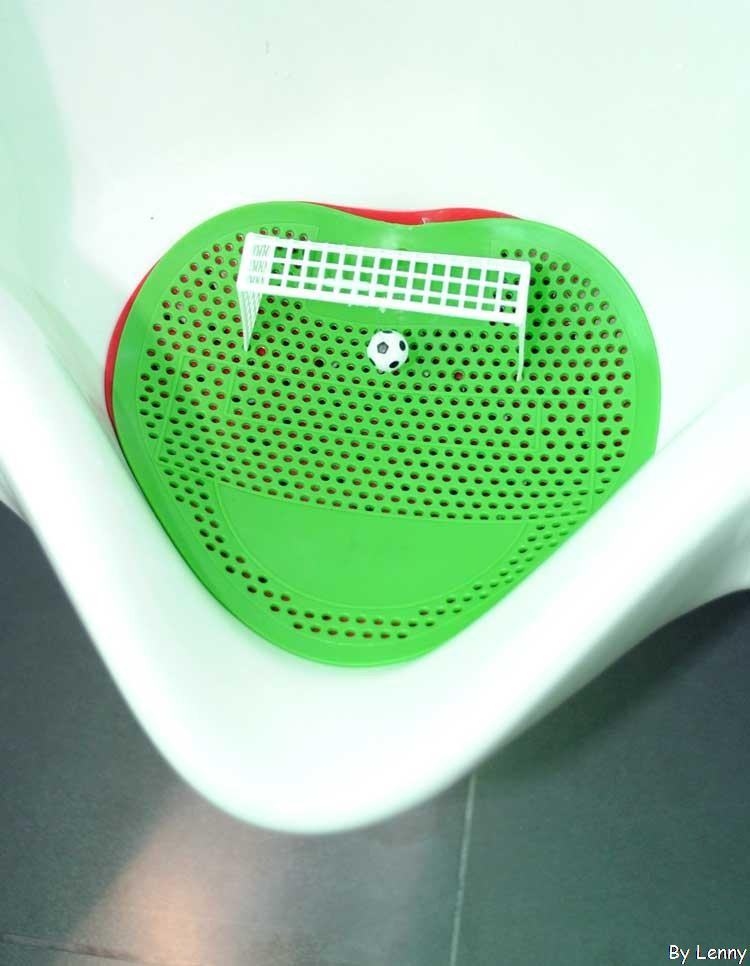 New design  Football Cup Theme of The Urinal toilet mat With Sweet Smell mat in the toilet