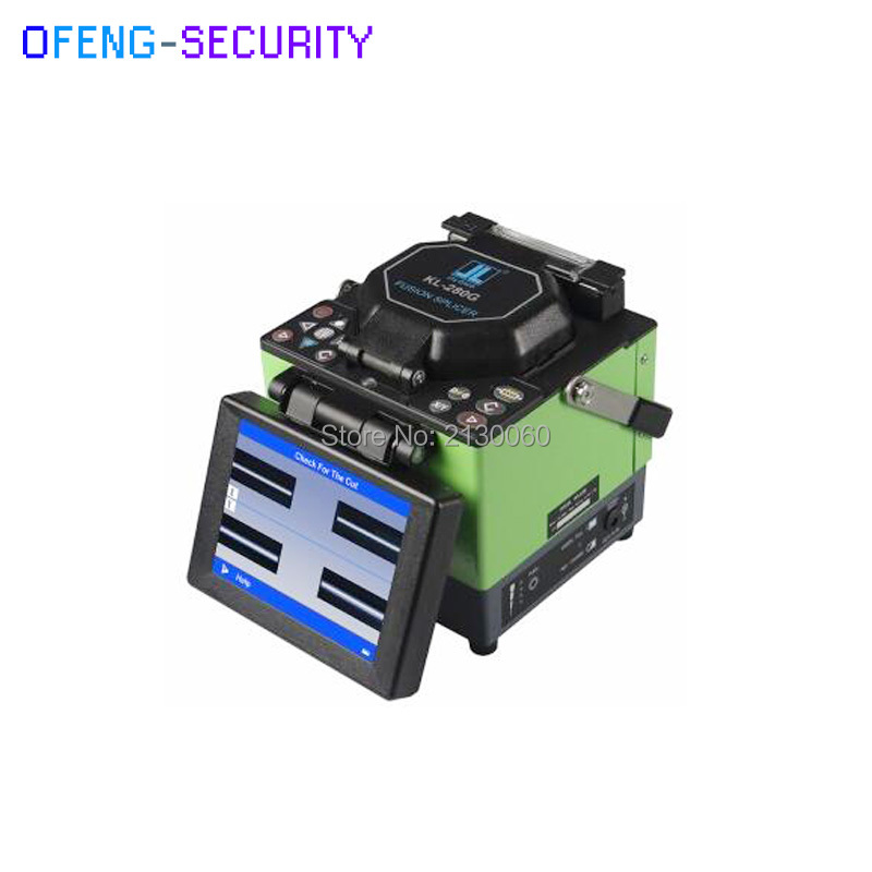 Original Jilong Fiber Optic Splicing Machine KL-280G Single Fiber Fusion Splicer