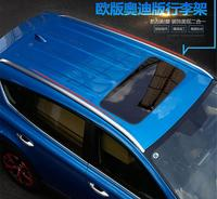 Алюминий сплава на крышу автомобиля багаж камера бар для 16 17 TOYOTA RAV4 2013 2014 2015 2016 2017