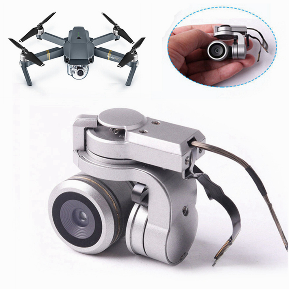 Genuine Repair Part DJI Mavic Pro Gimbal Camera FPV HD 4K Cam Accessories Lens for DJI Mavic Pro Gimbal Camera 4K Video RC Drone квадрокоптер набор dji mavic pro 4k quadcopter бпла красный