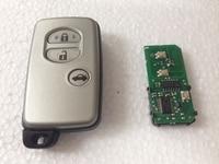 3 Botones de Llave Inteligente A Distancia Para Toyota Camry Reiz Pardo 434 Mhz ID71 Chip Con Hoja Toy48 Clave (0140-WD03 WD04) 2005-2008 Año