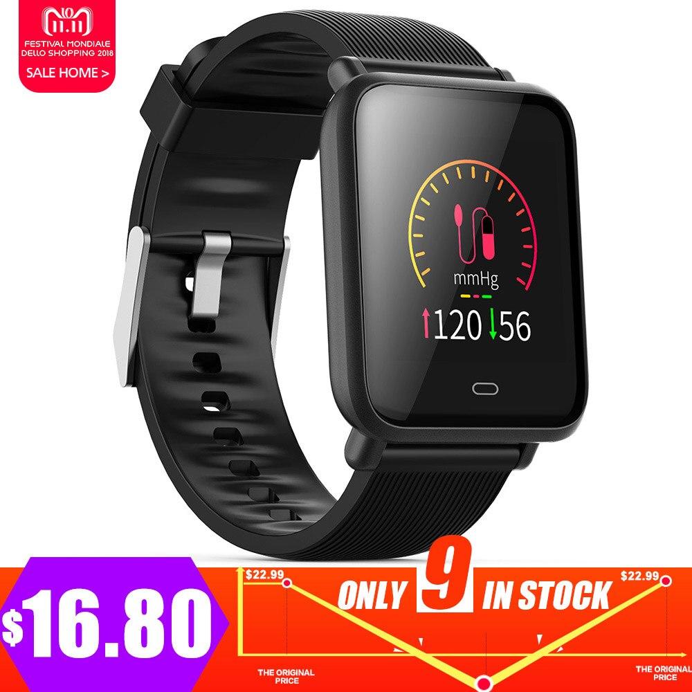 Mesuvida Q9 Smartwatch À Prova D' Água Esportes Para Android/IOS Com Funções de Pressão Arterial Monitor de Freqüência Cardíaca Relógio Inteligente