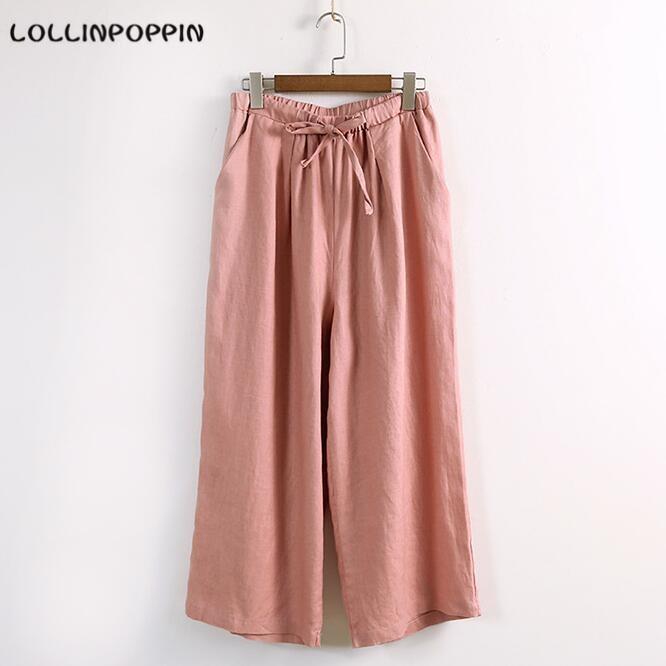 Popular Womens Wide Leg Linen Pants-Buy Cheap Womens Wide Leg ...